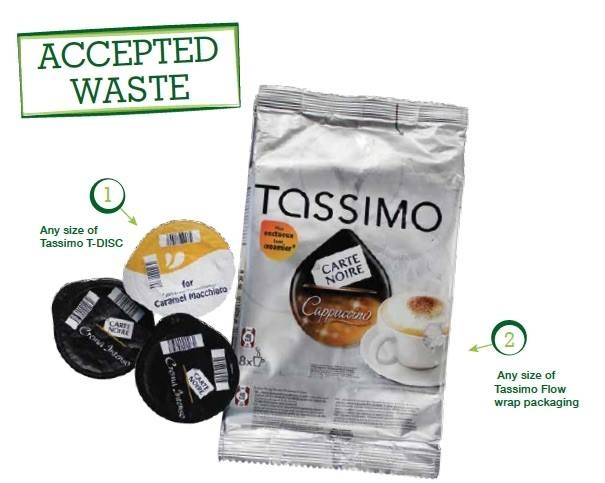 Recycle Tassimo pods and Foil containers for Wiltshire Air Ambulance