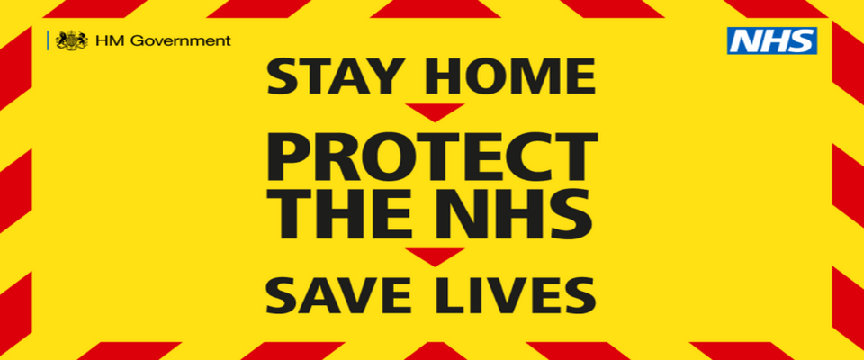 Stay at Home Protect the NHS