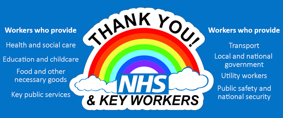 Thank You to all NHS and Key Workers