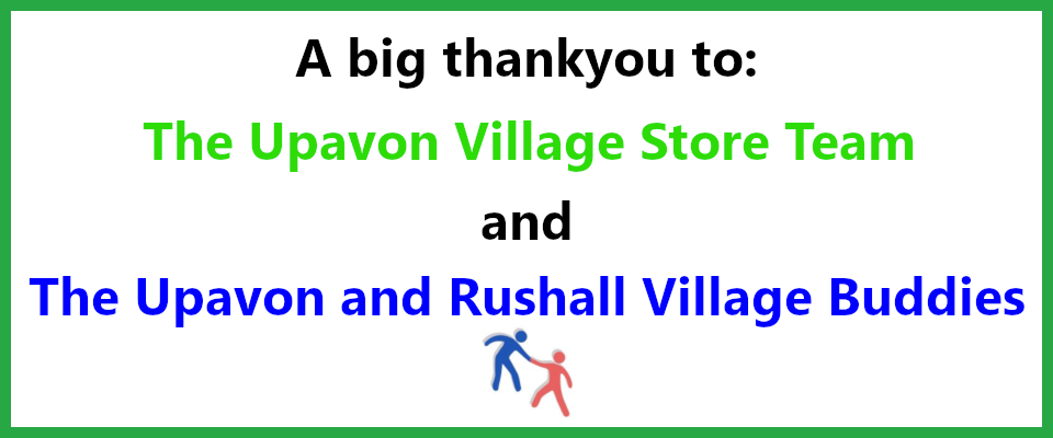 Thank you to Upavon Shop and Upavon Buddies